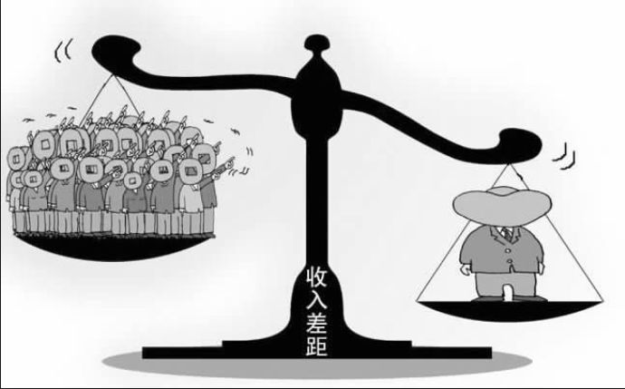 貧富の格差拡大