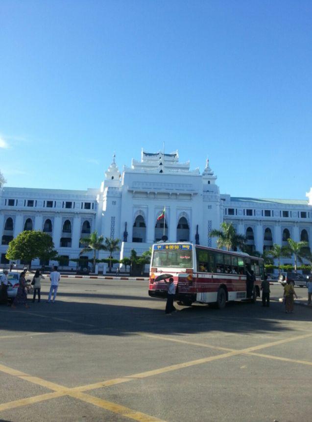 ミャンマー市役所